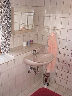 Ferienwohnung Nr. 2 - Das Bad