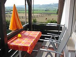 Ferienwohnung Nr. 2 - Der Balkon