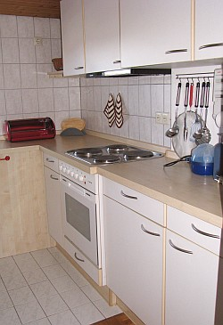 Ferienwohnung Nr. 2 - Die Küche