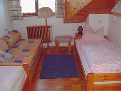 Ferienwohnung mit Balkon - Das Schlafzimmer II