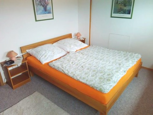 Ferienwohnung Nr. 2 - Das Schlafzimmer