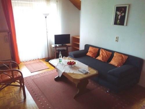 Ferienwohnung Nr. 2 - Das Wohnzimmer